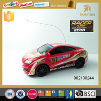 Red and Black 4 functions mini rc car
