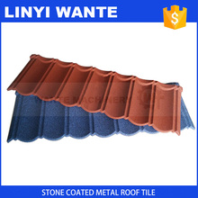 Best-selling items European classic type bond stone-coated steel roofing tiles