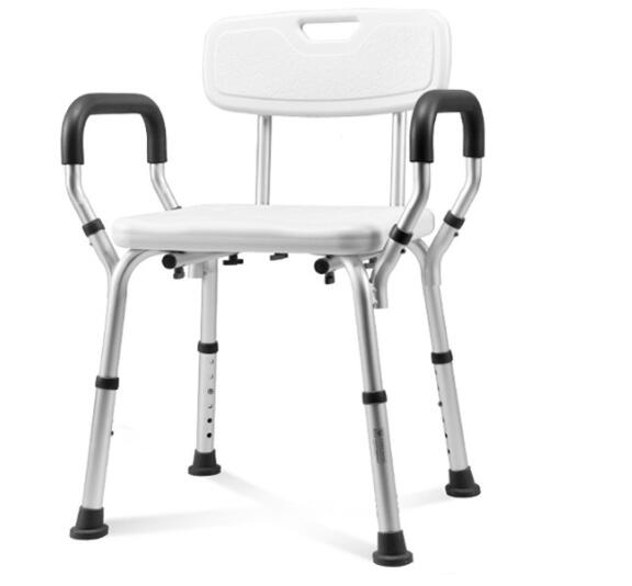 Medical equipment professional supplier adjustable shower chair with low price