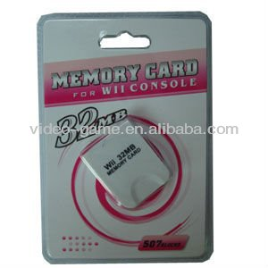 video game accessory for Wii and game cube 32MB memory card