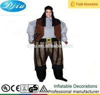DJ-CQF-043 Old clothes inflatable costumes for funny party