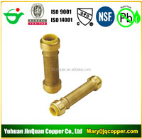 "Slip Coupling 1/2""MPT X1/2"" Push Fit Lead Free cUPC NSF quick connect with PEX COPPER CPVC pipe"