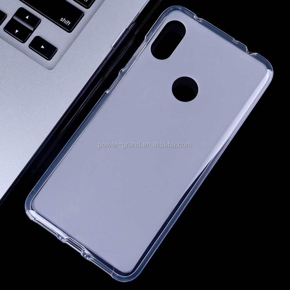 Soft Frosted Pudding TPU phone protective case cover for Xiaomi Redmi Note 7 Pro