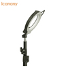 Professional flexible selfie led light stand-up selfie led light phone hoder microphone selfie led light for live stream lady