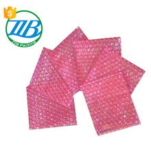Customized white / red Anti-static Air Bubble Bags for packing