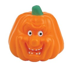 Pu foam pumpkin anti stress ball