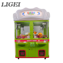 New Arrival amusement game Happy Baby 4 Players gift toy crane claw machine for sale malaysia