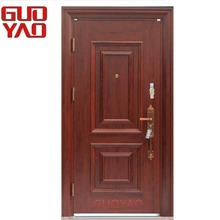 Turkey market Main entrance front entry Exterior cheap fire rated steel doors