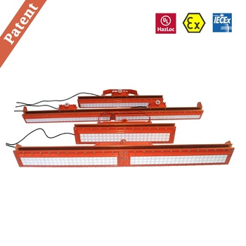 UL844 ATEX Explosion proof LED Linear Light for Class I DIV 1&2, Class II DIV 1&2, Zone 1 & 21 Zone 2 & 22