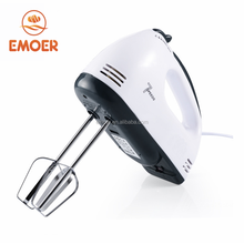 Hot sale egg beater Milk frother Hand mixer with Snap-On Case, White