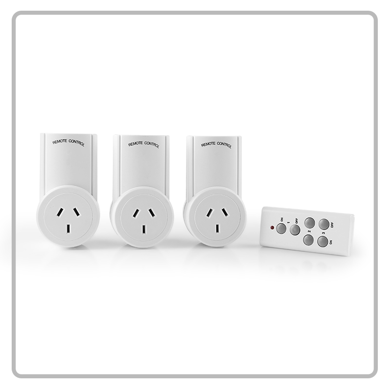 Factory outlet electrical switch socket 230V 10A wireless remote control socket