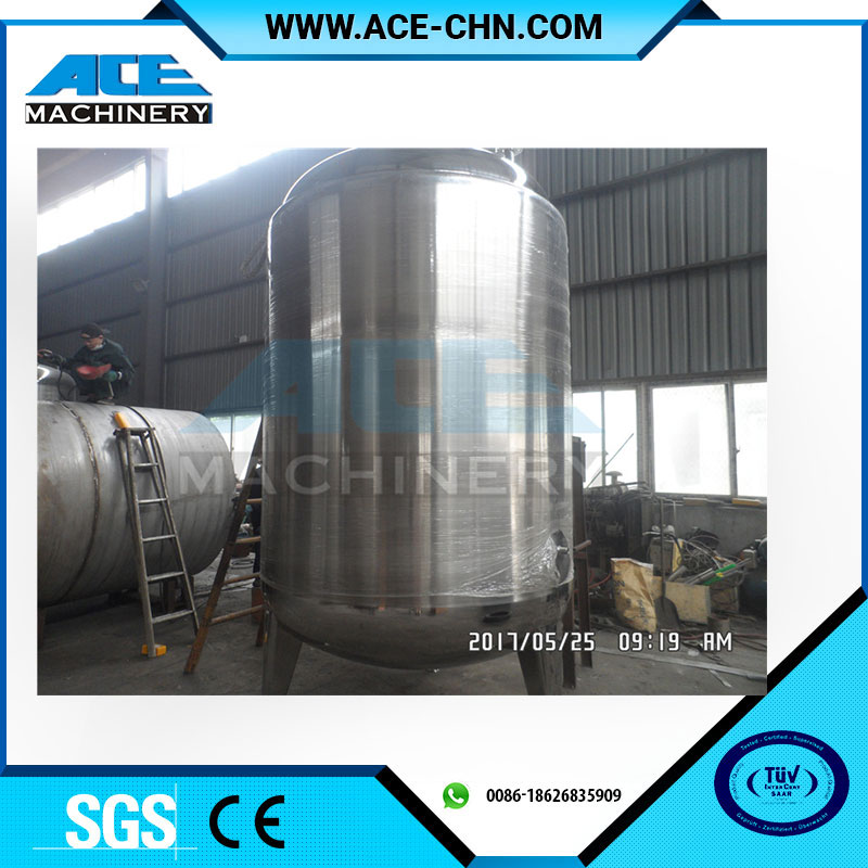 High Quality 5000L Stainless Steel Chemical Mixing Tank / Vessel
