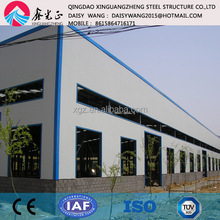 One stop Customized Prefab steel structure warehouse China