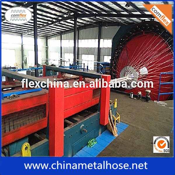 stainless steel wire braiding machinery design for flexible metal hose