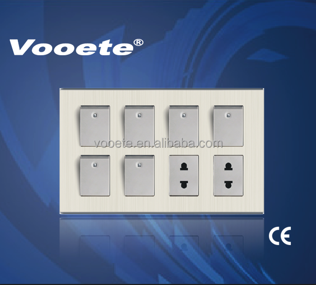 modern electrical decorative switches and sockets buy