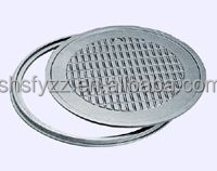 ductile iron manhole cover and frame clay