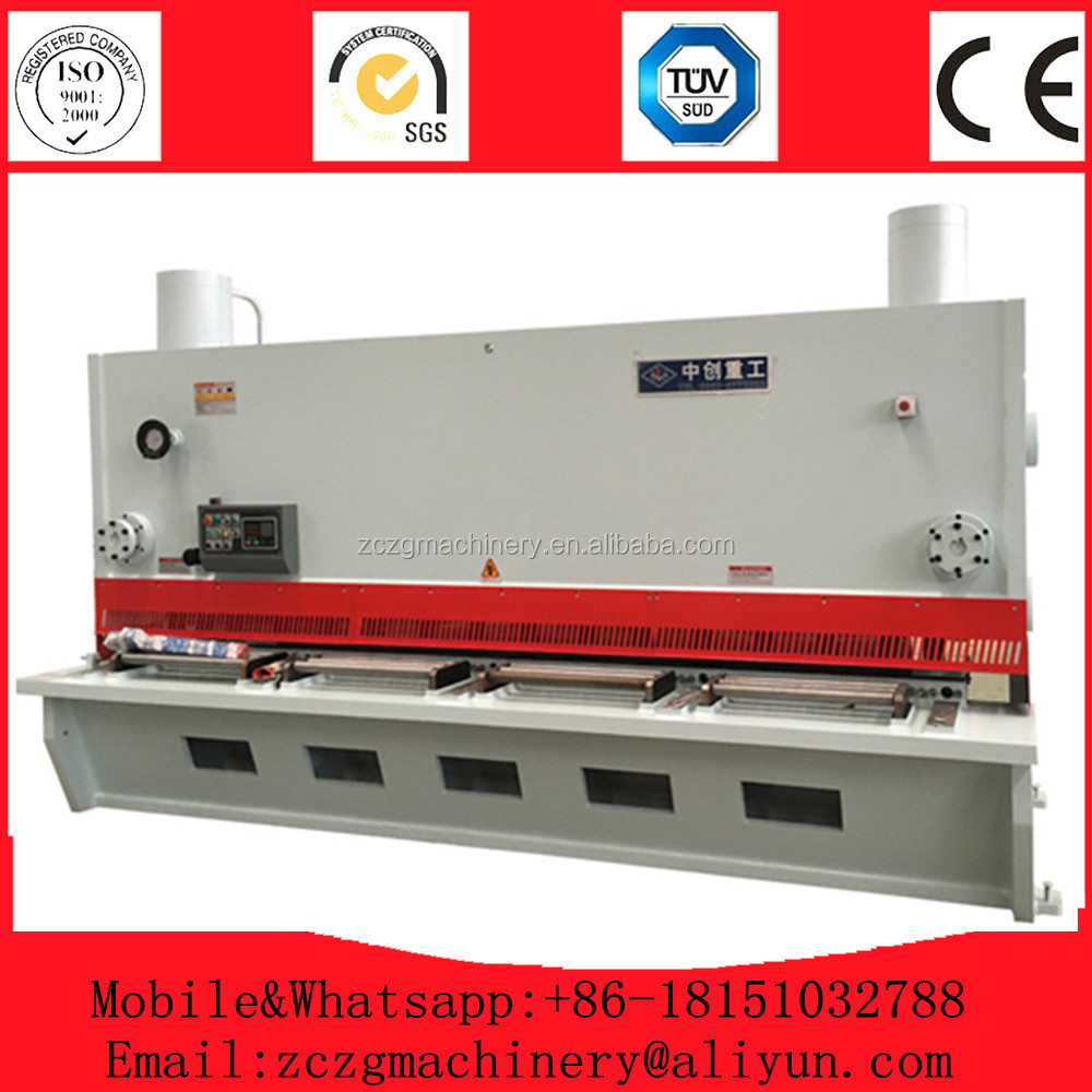 CNC hydraulic shearing machine manufacturer,hydraulic mild steel guillotine cutter