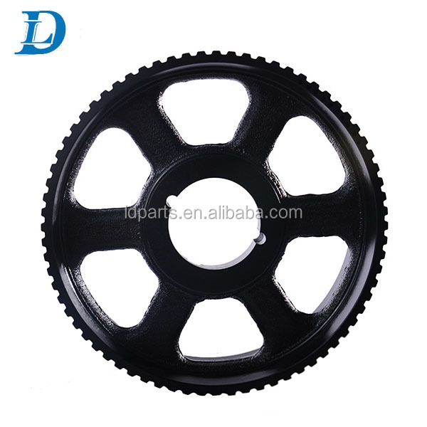 CNC Machining Aluminum Steel HTD 8M 5M Timing Belt Pulleys