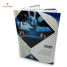 Custom A3 Hardcover Book Printing By High Quality Art Paper Mounted Cardboard