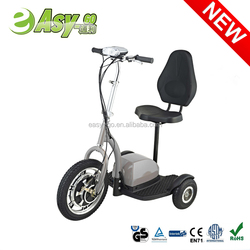 2016 newest 350w/500w 3 wheel electric scooter speedometer with CE certificate hot on sale