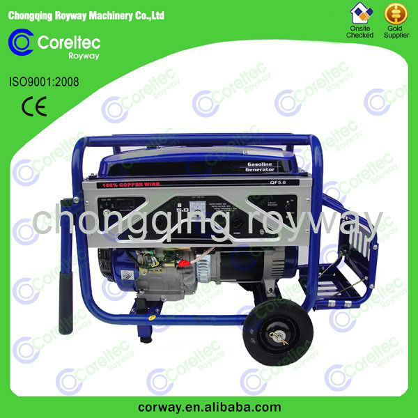 Hot sale air cooled single cylinder 4 stroke gasoline generators accessories
