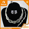 Bestway EF0053-1 Bridal Heavy Indian Necklace Jewelry Set