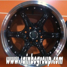 Various style alloy wheel r for car with factory price F359
