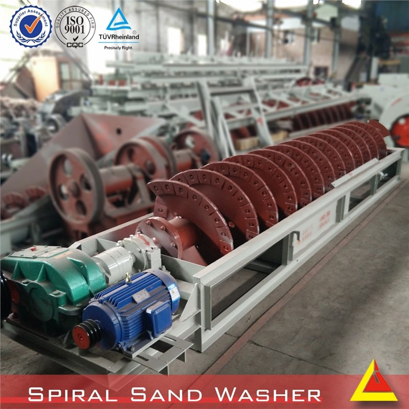 Small Gold Mining Equipment stable Building sand corundum washing machine with 30-100 TPH