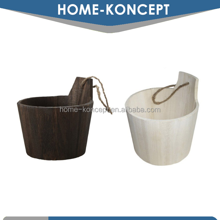 Wooden Storage Bucket