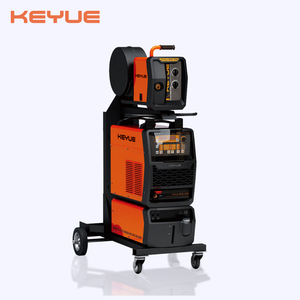 Double pulse mig/mag/tig/mma 4 in 1 welder synergy type aluminum welding machine