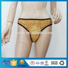 Foshan Factory Oem Super Soft Disposable Panties With Sanitary Pad For Women