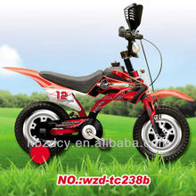Motorcycle kids bycicle for boys children bycicle mini baby bycicle