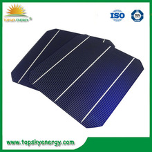 "2015 High Efficiency A grade 156mm x156mm 6"" 2BB/3BB 6 inch mono Solar Cell with competitive price for sale"