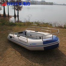 fast patrol and electric motor boat with pvc inflatable boat fabric for sale