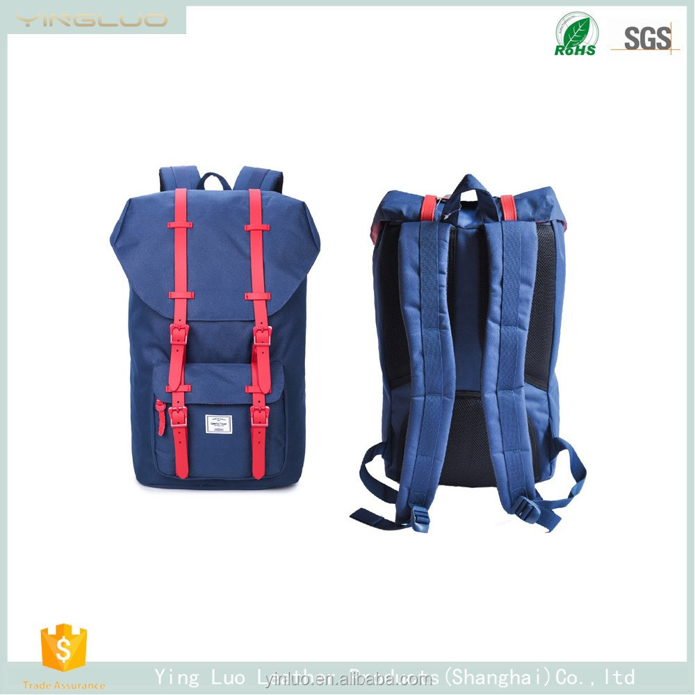 2017 Korean fashion leisure tourism capacity Oxford outdoor backpack factory wholesale bag manufacturer