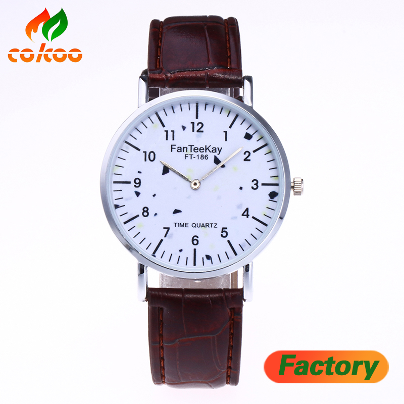 Business Watch Simple Watch design quartz movement leather watches for <strong>men</strong>