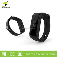 Fitness pedometer with sedentary reminder, call/message reminder bluetooth fitness bracelet heart rate monitor watch