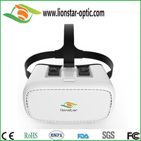 2016 hot sale google cardboard 3d glasses vr box sexy movie full open