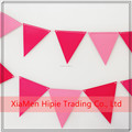 Coloured Bunting Paper Party Banner 24 Pennant Triangle Flag