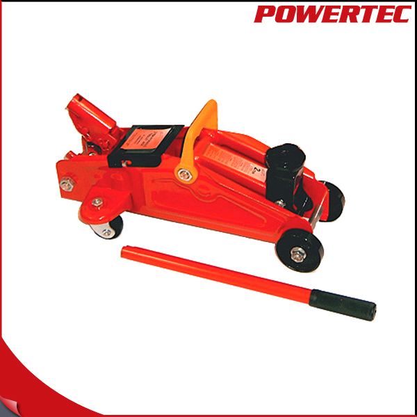 POWERTEC 3 Ton Hydraulic Floor Jack High Lifting SUV Mechanic Shop Garage Tire Tool