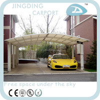 aluminum carport with arched roof