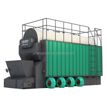 Solid-Fuel Fired Hot Water Boiler