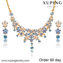 S-7-Xuping Hot Sale Gold Plated African Beads Jewelry Set Wholesale