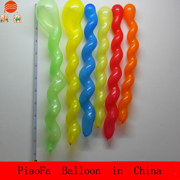 chinese dragon balloon/ screw latex balloon