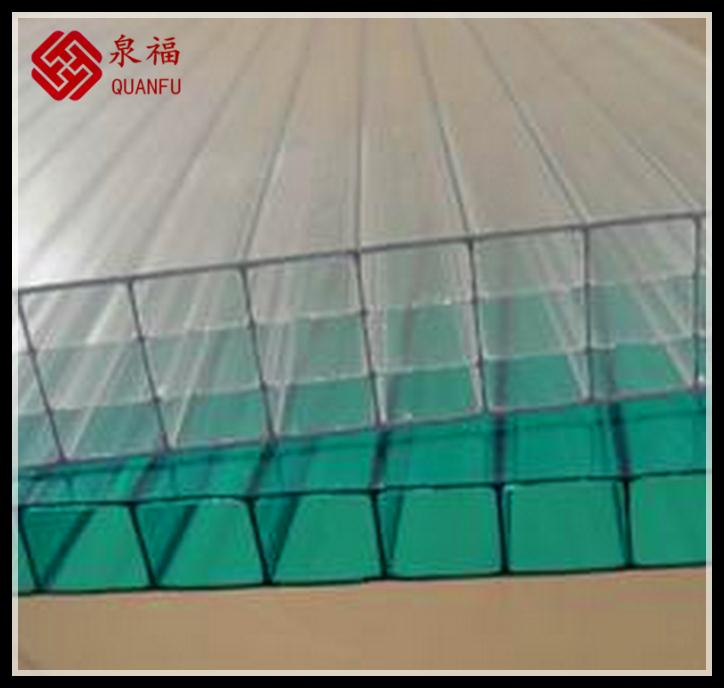 Red roof and glazing 10-year warranty sun sheet polycarbonate