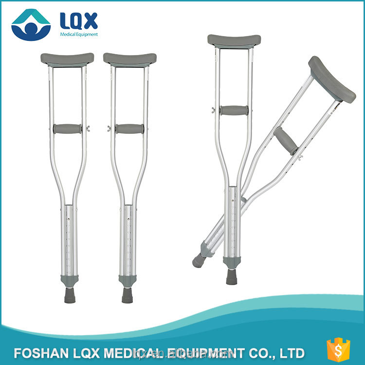 leg rehabilitation equipment aluminum crutches price parts for disable and adult