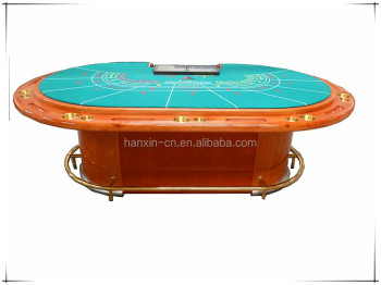 Super Quality Solid Wood Baccarat with classic painting color