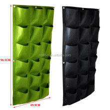 non woven felt fabric hanging grow bags vertical wall garden