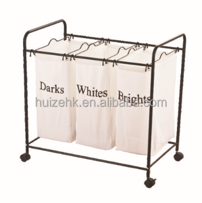 Polyester Laundry Hamper Cart