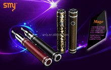 Hot sell at Miami Expo ecig variable voltage battery SMY original leopard Mage vaporizer pen case